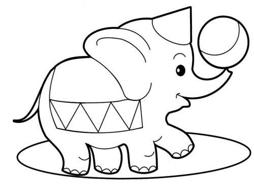 животные раскраска5