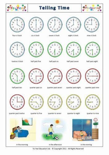 часы задания для детей2