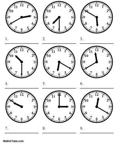 часы задания для детей3