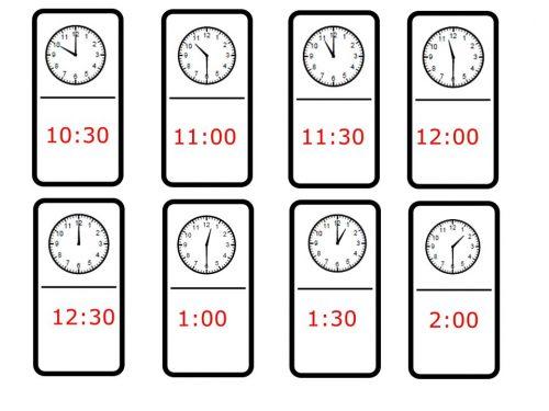 часы задания для детей4