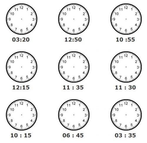 часы задания для детей5