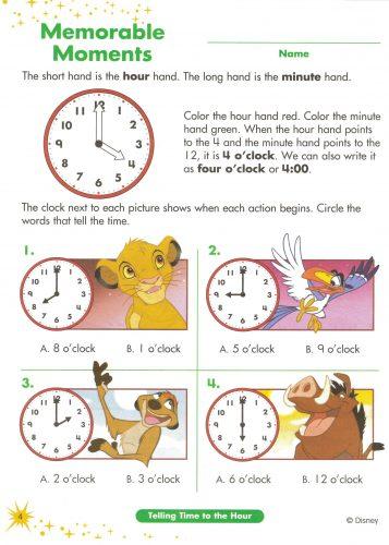 часы задания для детей7