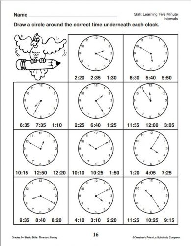 часы задания для детей6