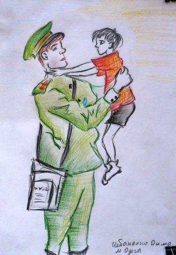 дети войны картинки рисунки