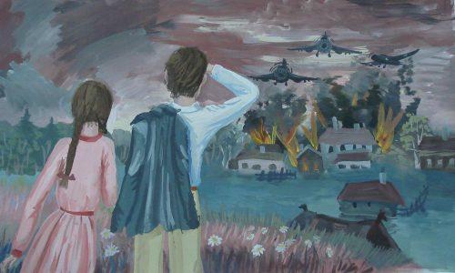 дети войны картинки рисунки11