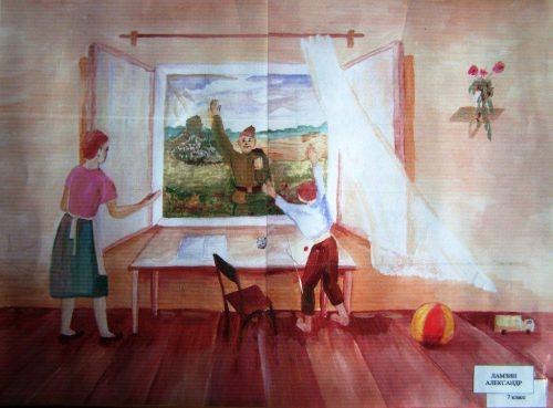 дети войны картинки рисунки12