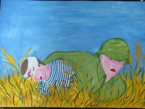 дети войны картинки рисунки4