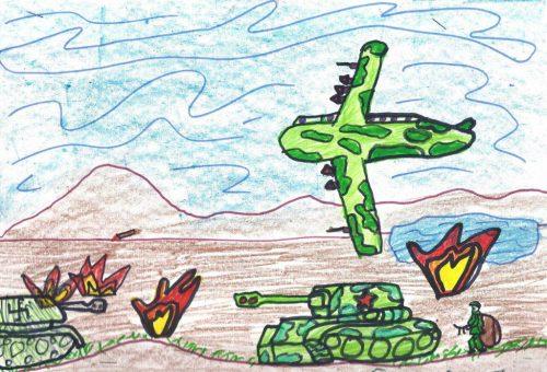 дети войны картинки рисунки5