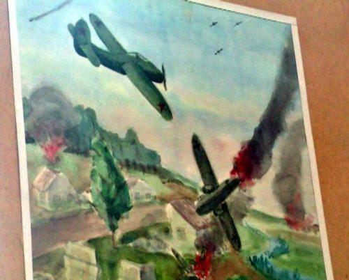 дети войны картинки рисунки6