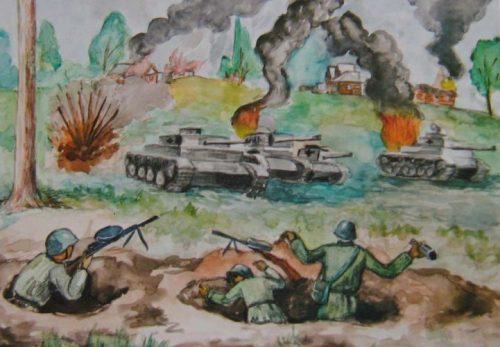 дети войны картинки рисунки9