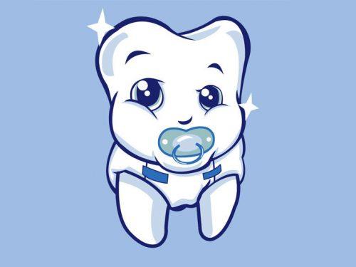 маленький зуб