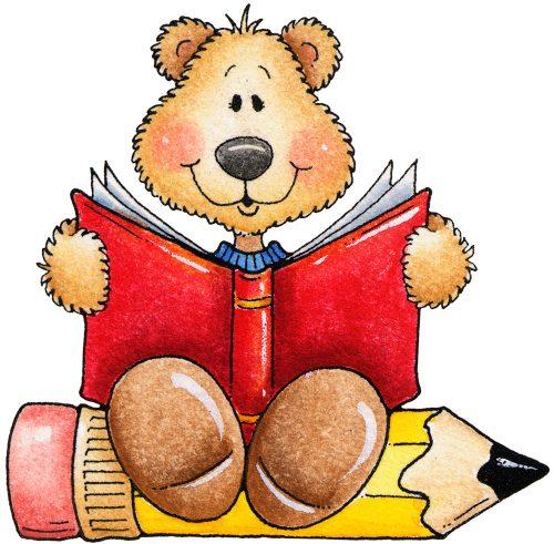 медведь рисунок