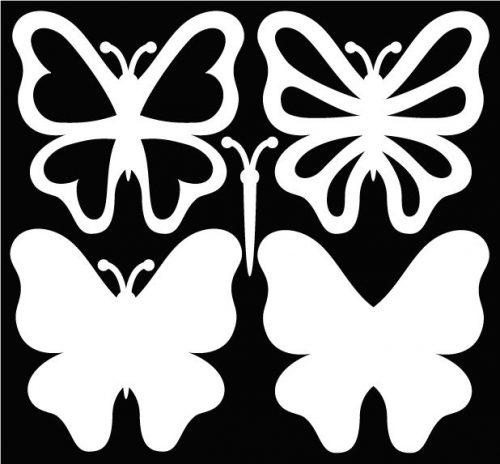 картинки бабочек для вырезания2