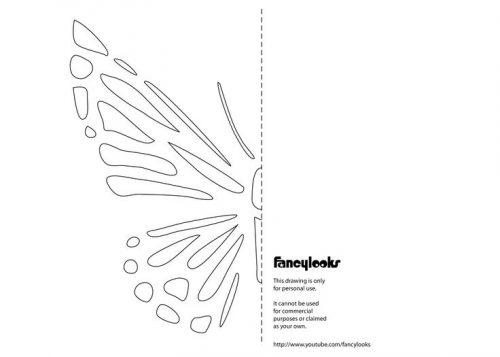 картинки бабочек для вырезания4