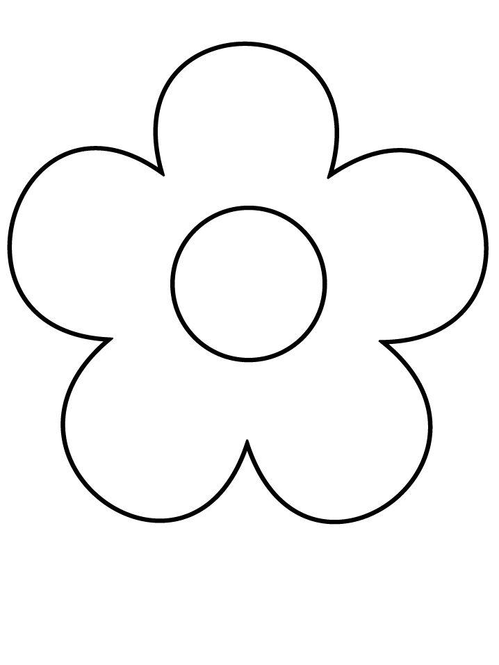 Цветок раскраска картинки для детей