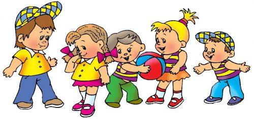 картинки дети играют в мяч5