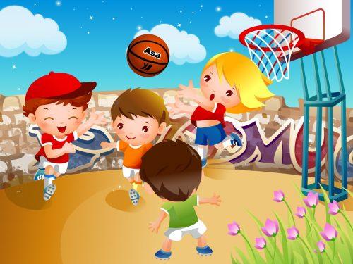 картинки дети играют в мяч7