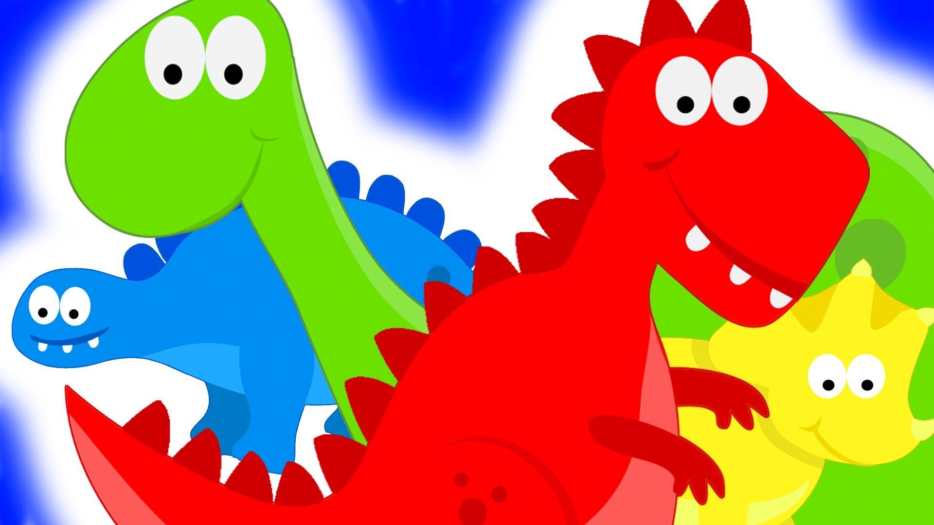 Видео игры про динозавров для детей