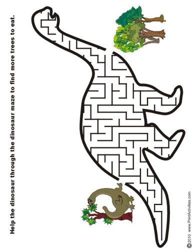 лабиринт динозавр3