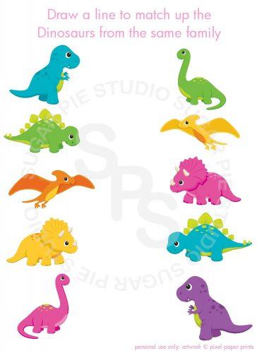 игра динозавры