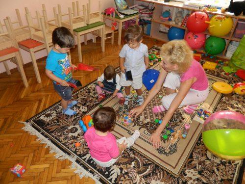 игра в детском саде на дому