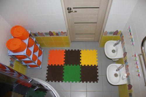 ванная комната детский сад на дому