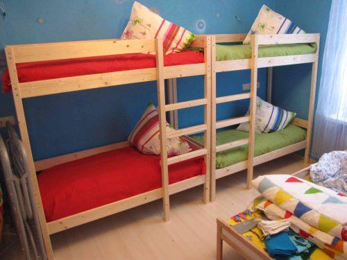 спальная комната детский сад на дому