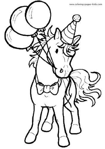 раскраска лошадка16