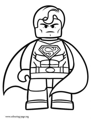 лего раскраска4