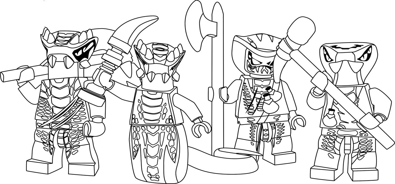 Раскраски для мальчиков ниндзяго распечатать - 8