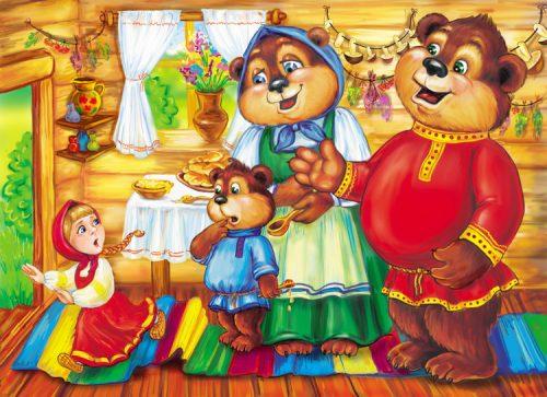 три медведя картинки