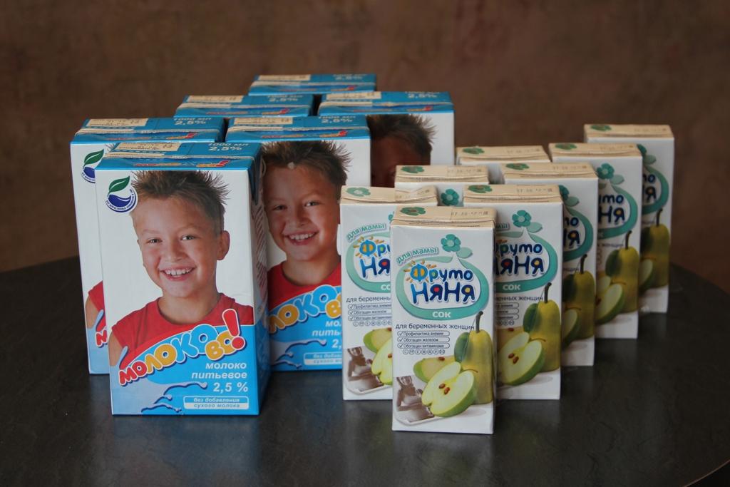 С какого срока беременным выдают молоко 53