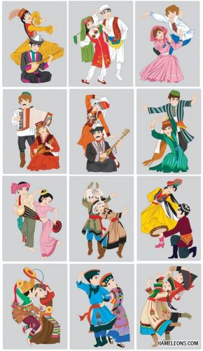 народы мира картинки для детей3