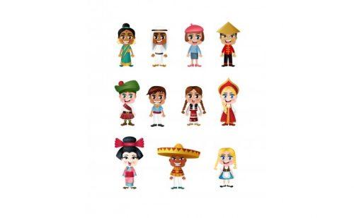 народы мира картинки для детей2