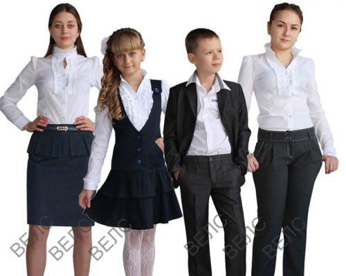 детская школьная форма