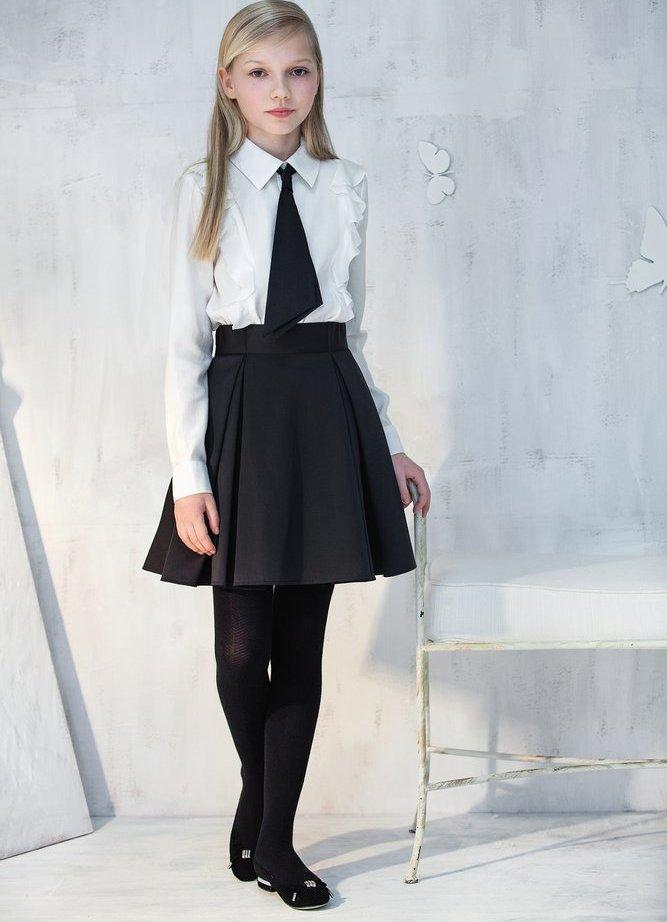 Фасон юбки для школьной формы