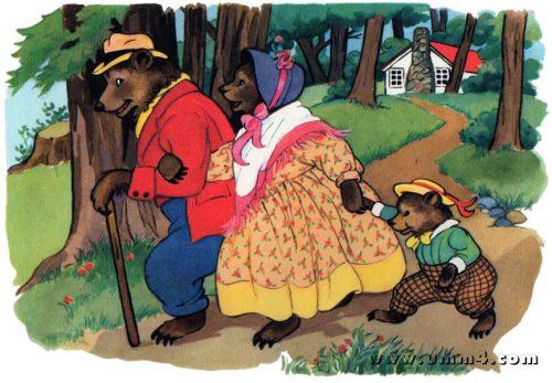 три медведя картинки6