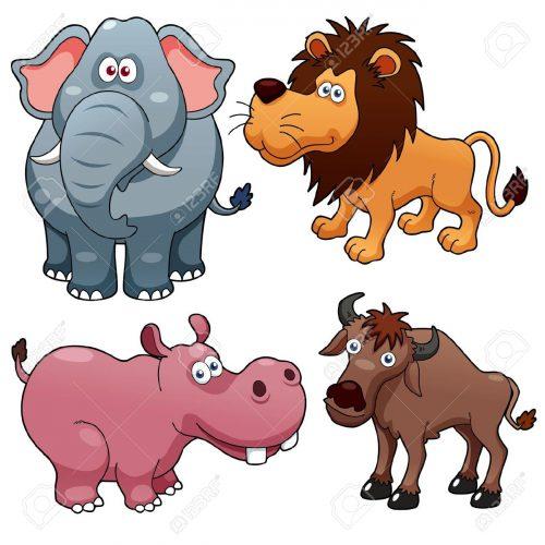 дикие животные для детей3