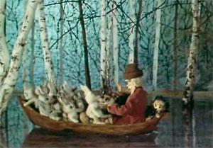 картинки из дед мазай и зайцы12