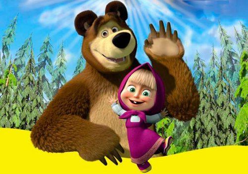 Маша и медведь картинки5