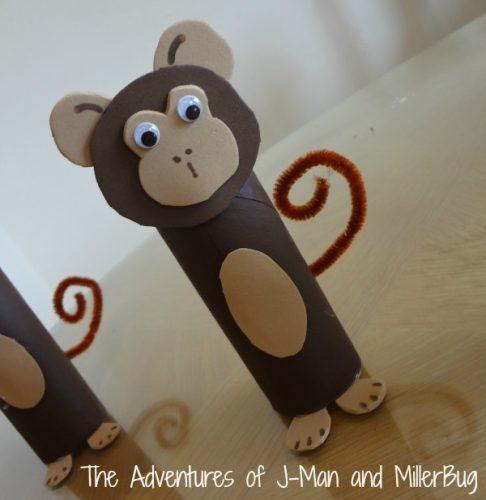 обезьяны из чашек поделка3