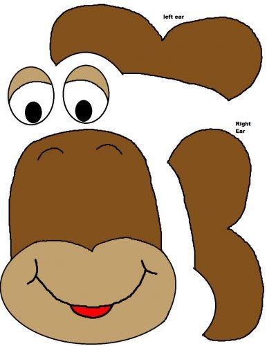 шаблоны обезьяны для поделок5