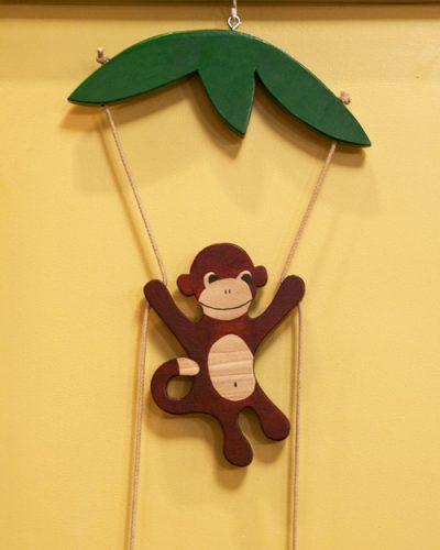 обезьяна поделка5