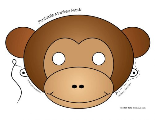 обезьяна поделка7