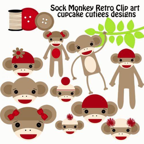 обезьяна поделка8