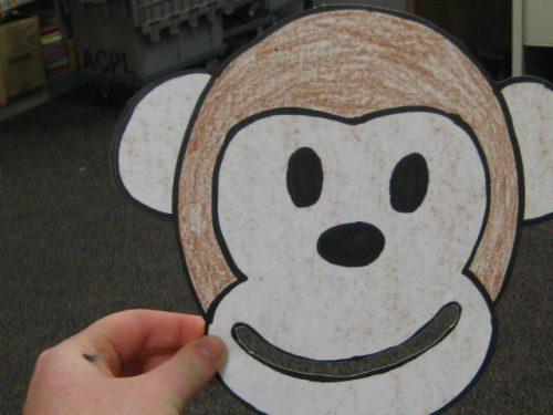 обезьяна поделка4