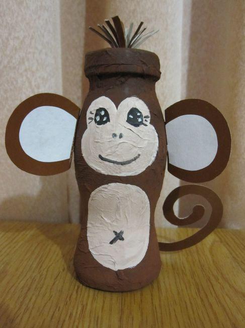 Поделка своими руками обезьянки
