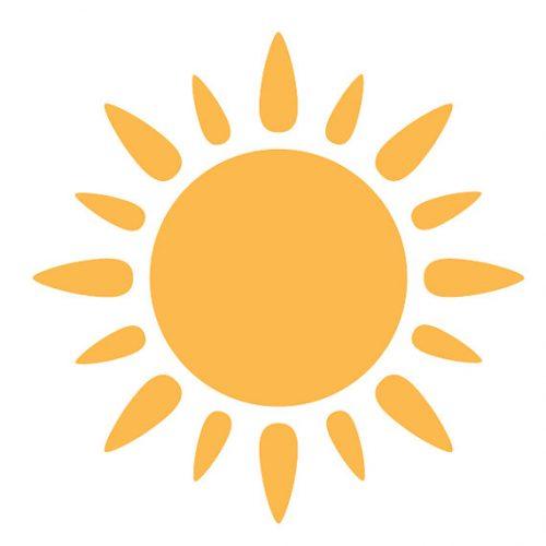 солнышко картинки для детей раскраски4