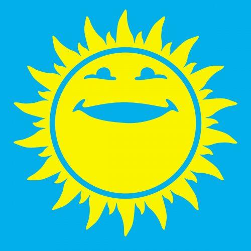 веселое солнышко картинки для детей