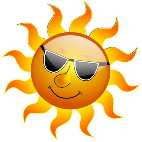 веселое солнышко картинки для детей4